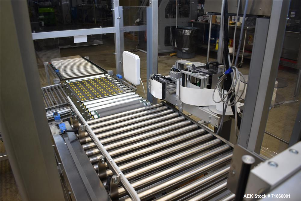 Pester Model TLC-2 Pharmaceutical or Cosmetic Robotic Case Packer