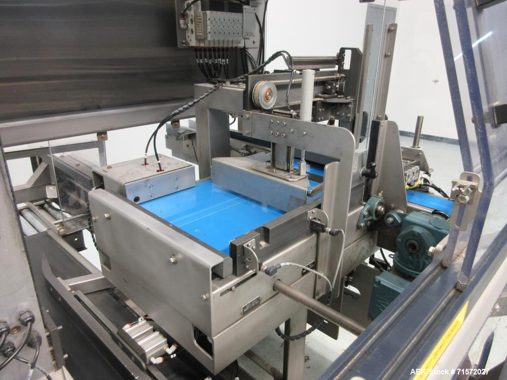 Used- BluePrint Automation Robotic Top Loading Case Packing Line