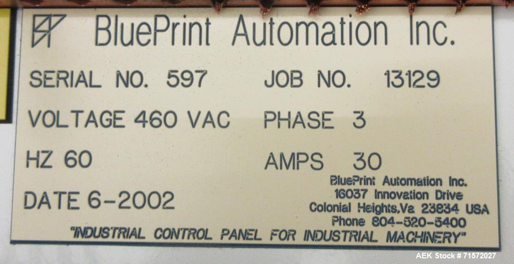 Used blueprint automation robotic top loader rob used blueprint automation robotic top loading case packing line malvernweather Image collections