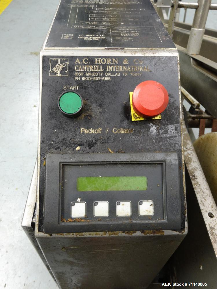 Used - AC Horn Model DLC Dual Lane Collator