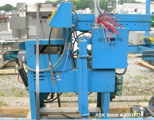 Used- Standard Knapp Semi Automatic Case Packer, Type 806. Approximate case capacity 6'' to 21'' width, 9'' to 21'' length, ...