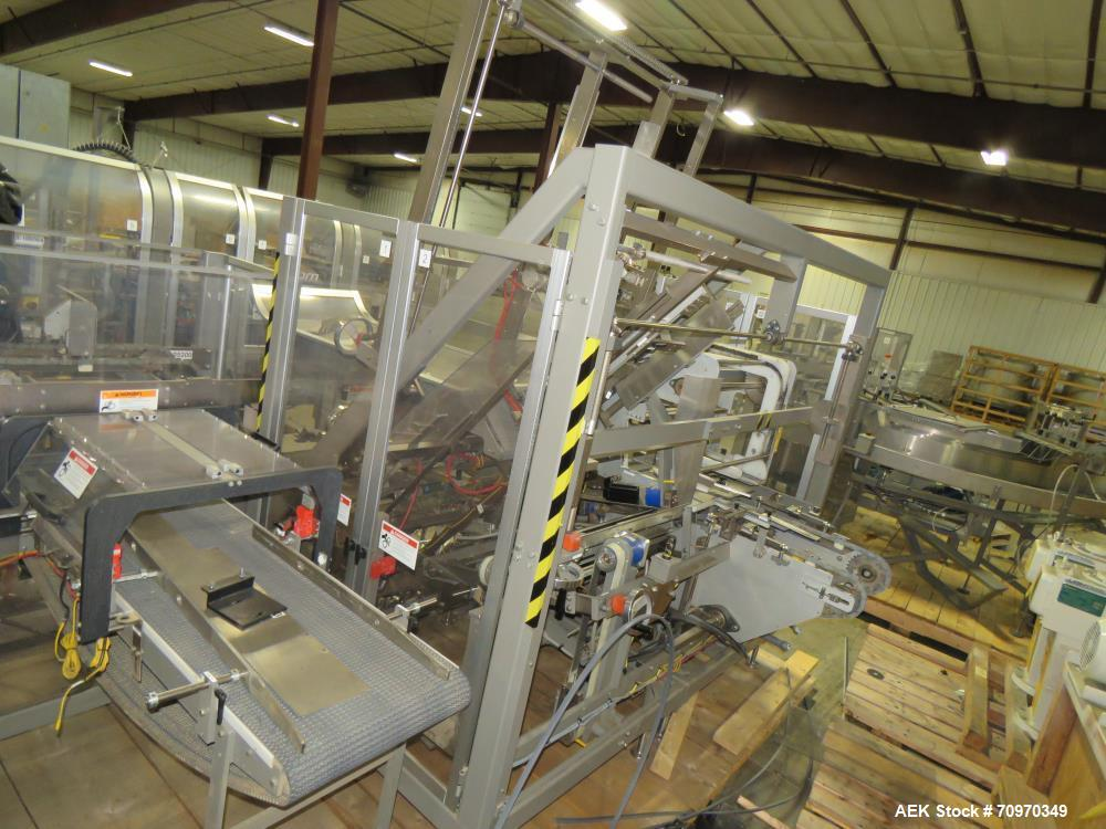 Used- Douglas Machine Axiom Wraparound Case/Tray Packer