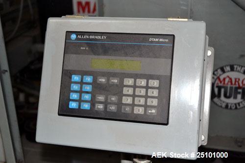 Used- Marq Medium Frame, Random Side Lug Drive, Top and Bottom Case Sealer, Mode