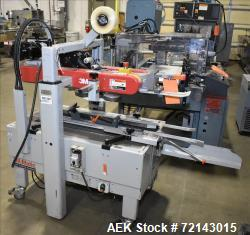 Used-3M-Matic Model 700A Adjustable Top and Bottom Case Sealer. The type 39600 is capable of speeds up to 30 cases per minut...