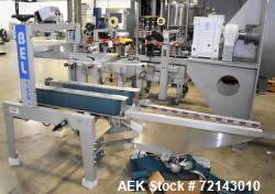 Used- Belcor Semi-Automatic Uniform Top and Bottom Case Sealer, Model 150SF