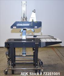 Used- Little David (Loveshaw) Model  LD-7D Top and Bottom Case Sealer/Taper.