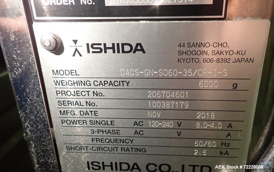Used- Ishida Checkweigher