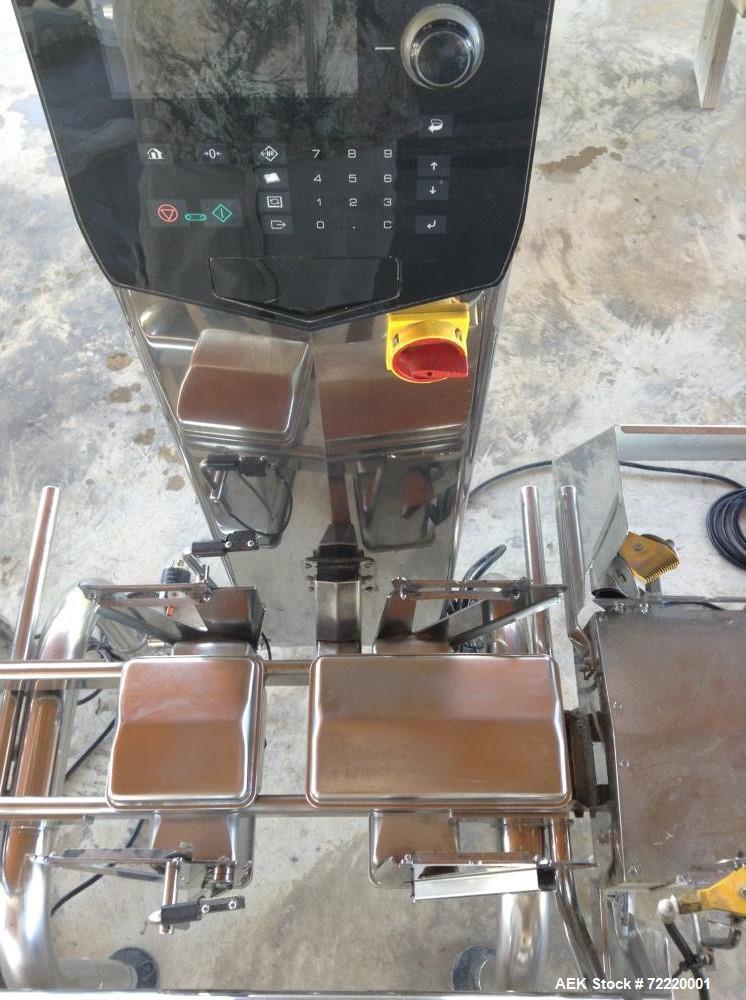Used- Ishida Belt Checkweigher, Model DACS