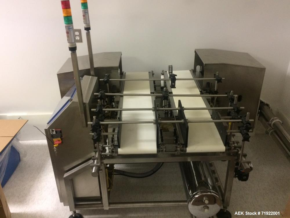 Unused- Loma Dual Lane Checkweigher, Model LCW 3000