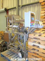 Used- Cresent Systems Box Weighting System, Model 06-1768, Serial # 1323-6, with (4) Eriez vibrators & Cresent Max Drive