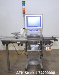 Used- Mettler Toledo Hi Speed Inc Check Weigher, Model XS2