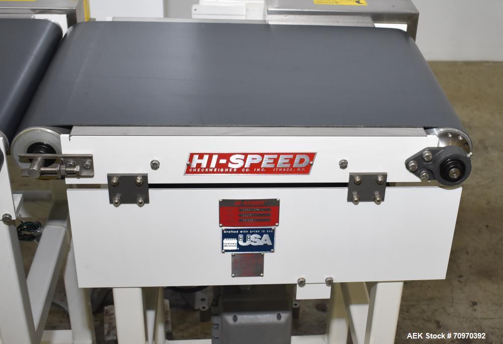 Unused- Mettler Toldeo Hi-Speed Checkweigher, Model CS3400CR-MM. Serial# 12185