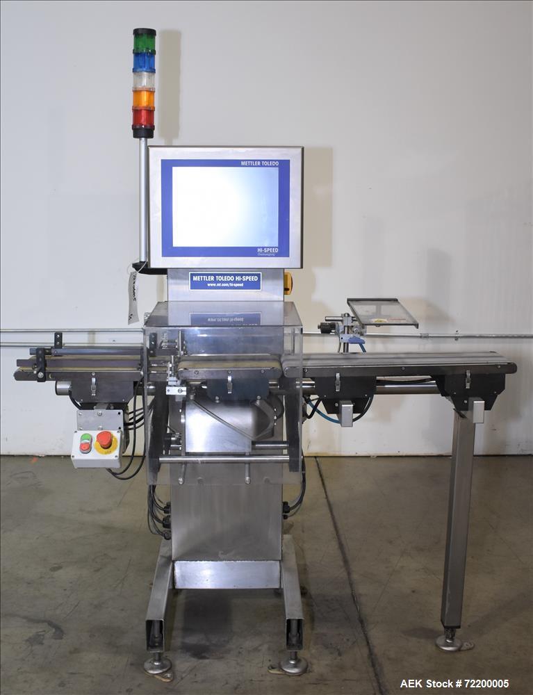 Used-Mettler Toledo Hi Speed Inc Check Weigher, Model XS2