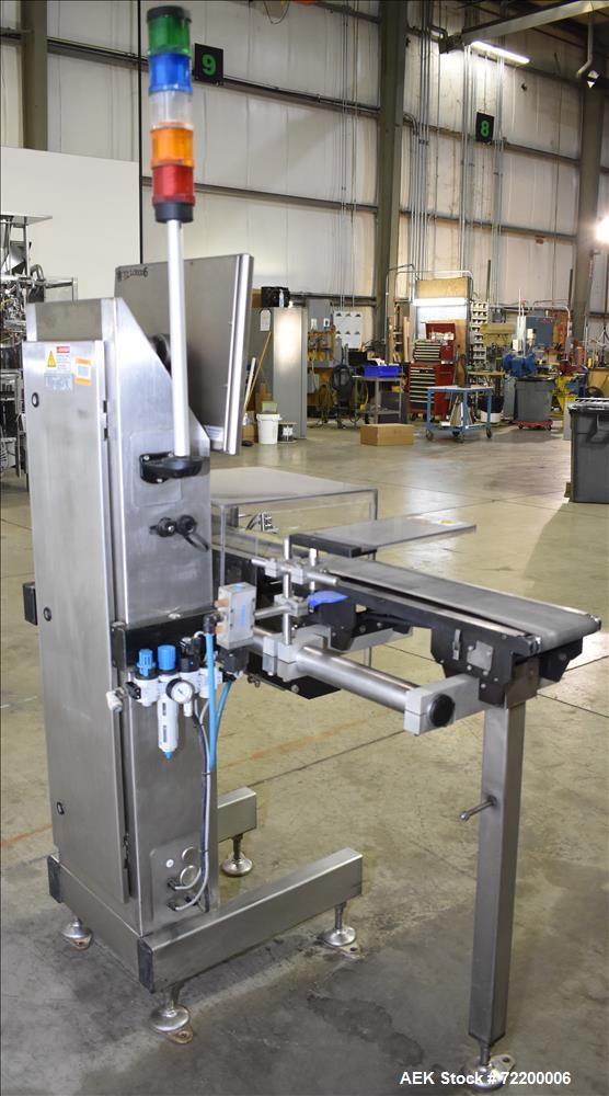 Used- Mettler Toledo Hi Speed Inc Check Weigher, Model XS2.