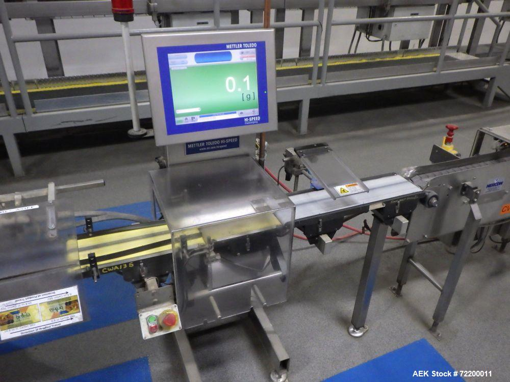 Used- Mettler Toledo Hi Speed Check Weigher, Model Neltweigh XC