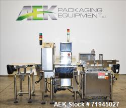 Ishida Model DACS-Z-006S-SB/SS-I Combination Checkweigher with CEIA Metal Detect