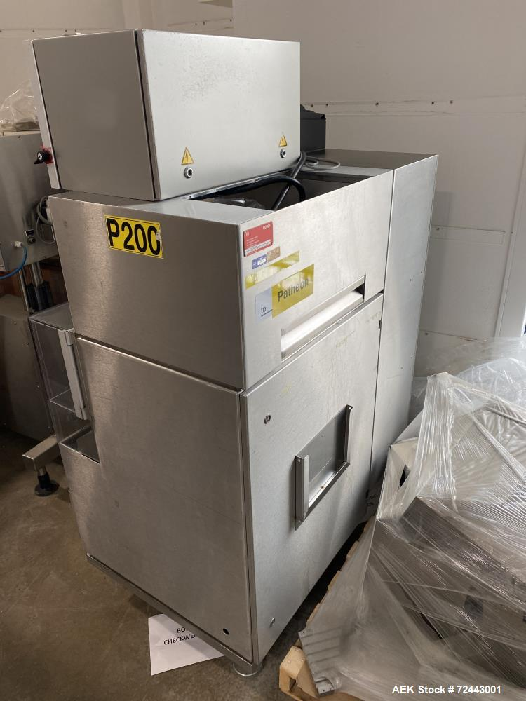 Bosch Model KKE1500 with BOB Capsule Checkweigher