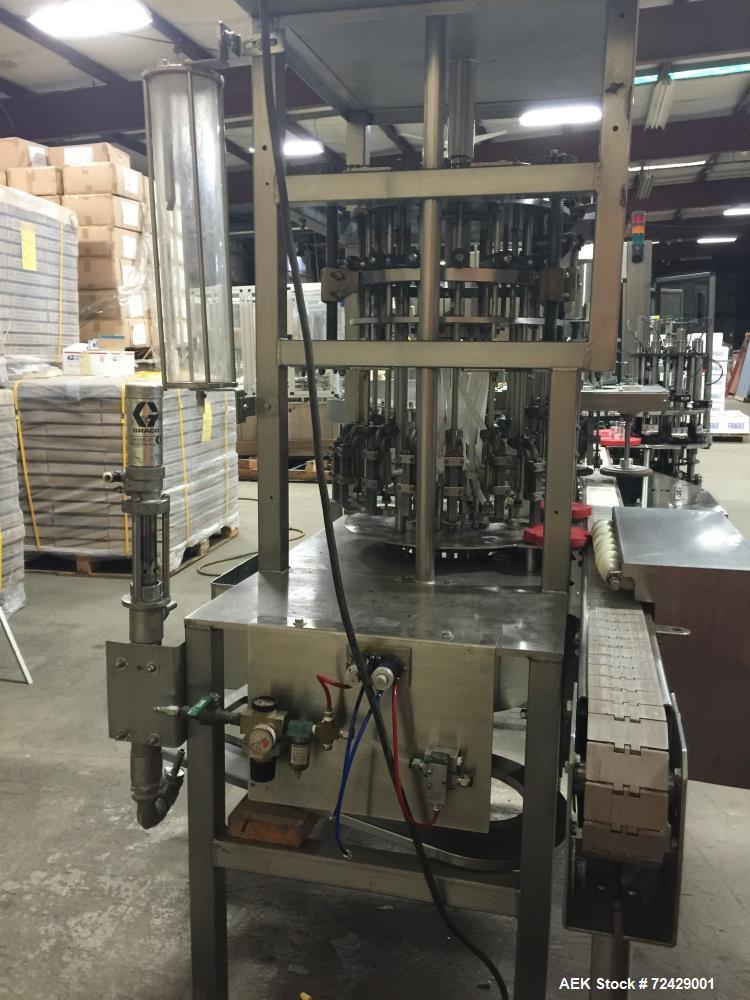 Used- JG Machine Nail Polish Filling Line