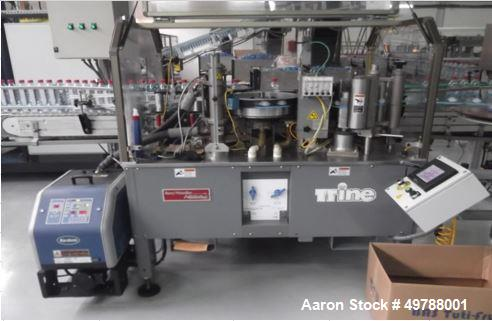 Used- PET Blow Molding - and PET Mineral Water Bottle Filling Line.
