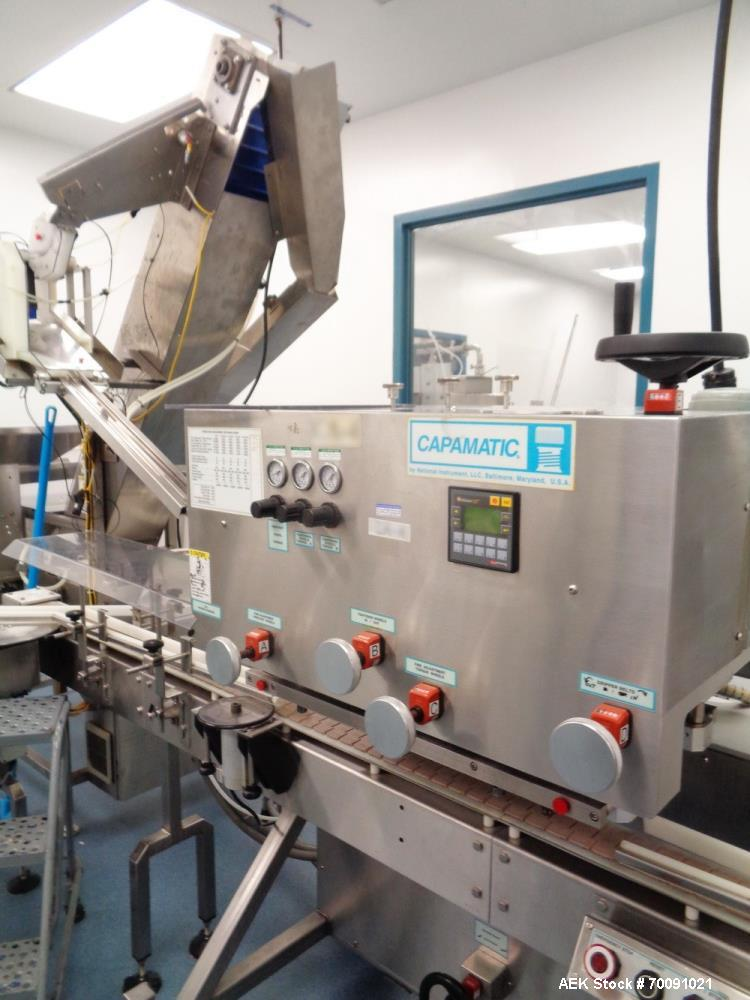 Used- Filamatic Liquids and Creams Automatic Packaging Line