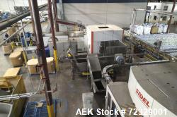 Used- Complete High Speed Bottled Water Filling Line