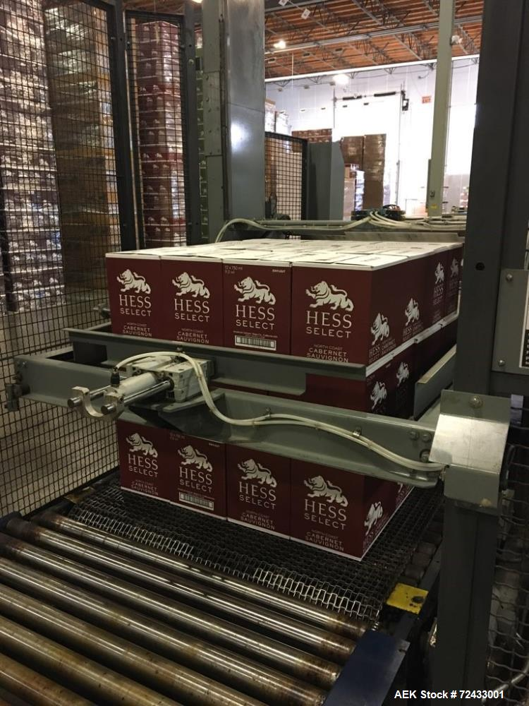 Used- Complete Robino and Galandrino Wine Glass Bottle Filling Line