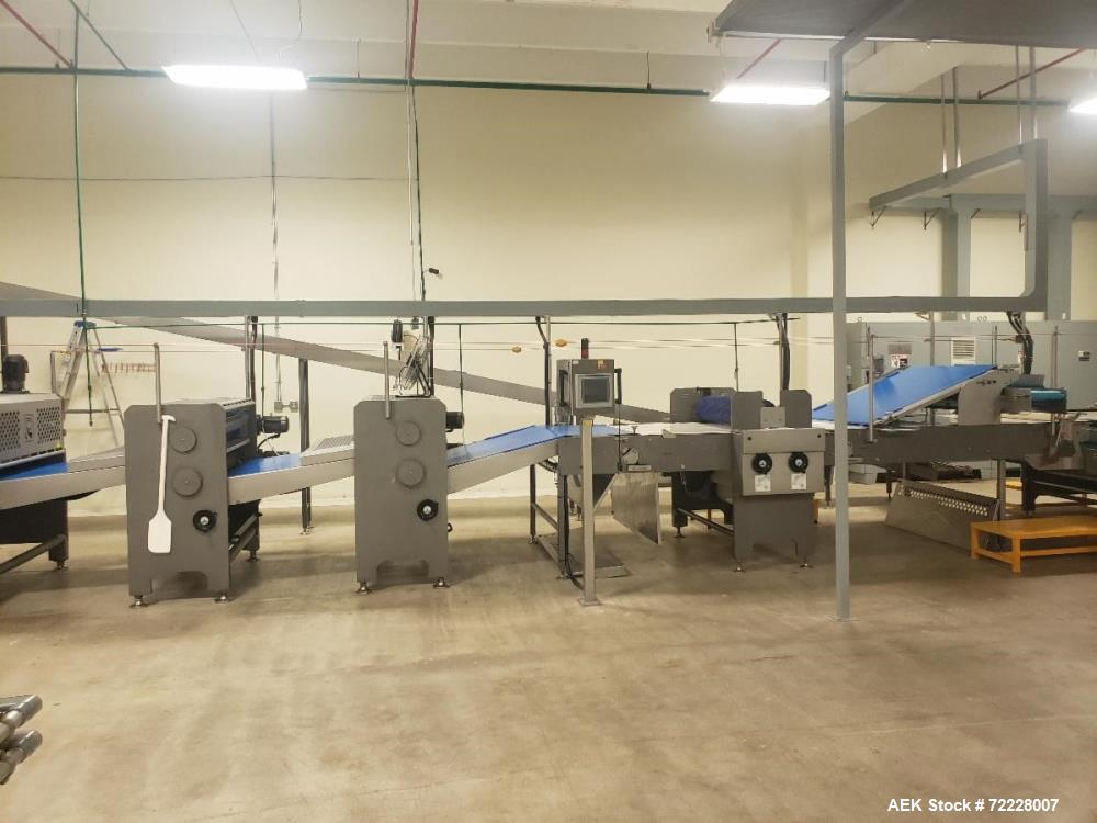Used- Eurosicma, Shafferr Redding Baking Systems Cookie Wrapping and Production