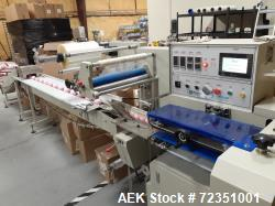 Used- Bath Bomb Packaging Line, Including Wrapper, Bath Bomb Former, and Labeler