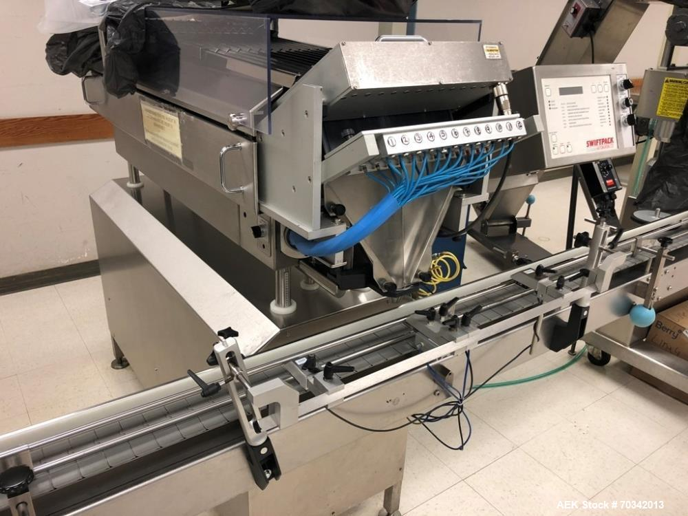 Used- Capsule/Tablet bottling line. Previously filling pharmaceutical tablets at approximately 40 BPM on 30-50 count prescri...