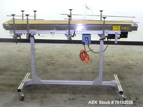Used- Dorner Portable Conveyor with Eagle belting