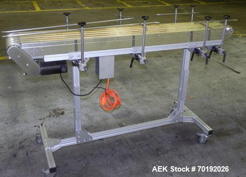 Used- Dorner Portable Conveyor with Eagle belting