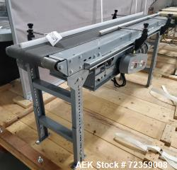 "Belt Conveyor. Belt approximately 78"" long x 12"" wide. Includes Delta S1 controller. Mounted on (2)..."
