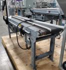 Used- Belt Conveyor with Foxjet Thermal Inkjet Printer / Case Coder. Belt approximately 78