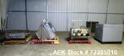 Used- Cablevey 4100 Series Tubular Drag Cable & Disc Conveyor