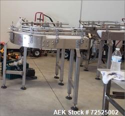 Unused - USA Conveyor Mfg. Custom Made 180 Degree U-Turn Foodservice Conveyor
