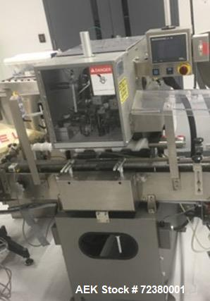 Used- IMA (Lakso) Model 150 Single Head Cottoner with Screw Feed Indexing