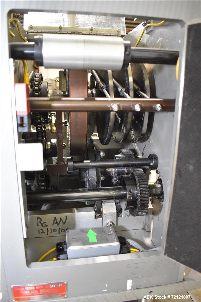 Used- Lakso (IMA) Automatic Twin Head Cottoner, Model 300.