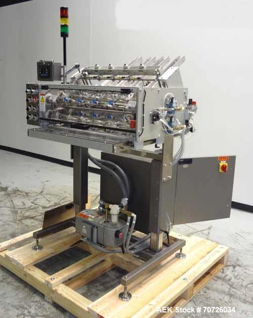 Used- MGS Model RPP 424DB 4 Head Rotary Pick & Place Feeder