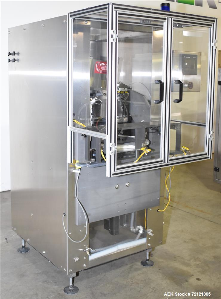 Used-Palace Packaging DF-HS Desiccant Filler, S/N 5809, Mfg. 6/02, Power 120V, 60Hz, 1 Ph, 10A, Air 50PSI, Includes Allen-Br...