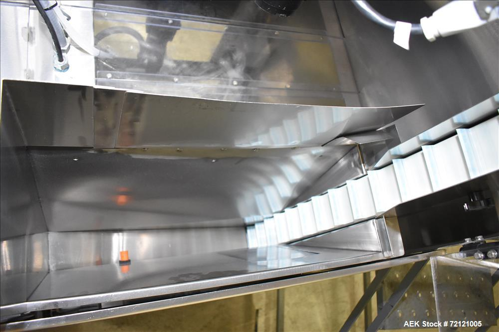 Used- Palace Packaging Model DF-HS High Speed Cannister Desiccant Feeder