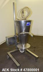 "Quadro Vac 903 Vacuum Transfer Hopper, 316 Stainless Steel, Model 903. Approximate 22"" diameter x 3..."