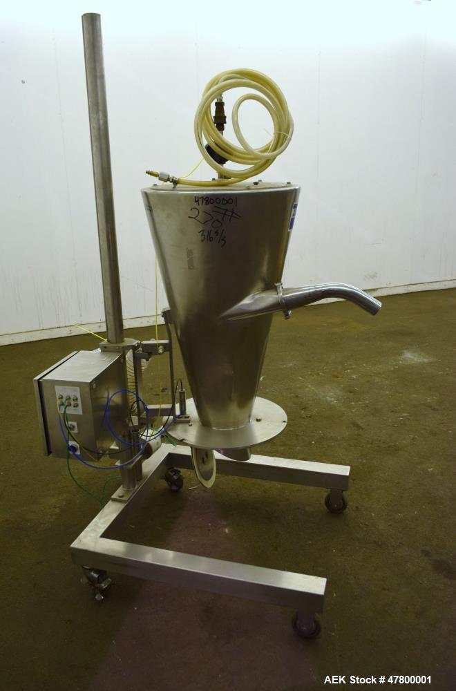 Used- Quadro Vac 903 Vacuum Transfer Hopper