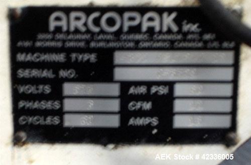 Used- Arcopak Dual Spout Valve Bag Packer