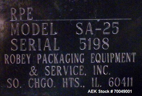 Used- Robey Packaging Equipment Auger Bag Filler,
