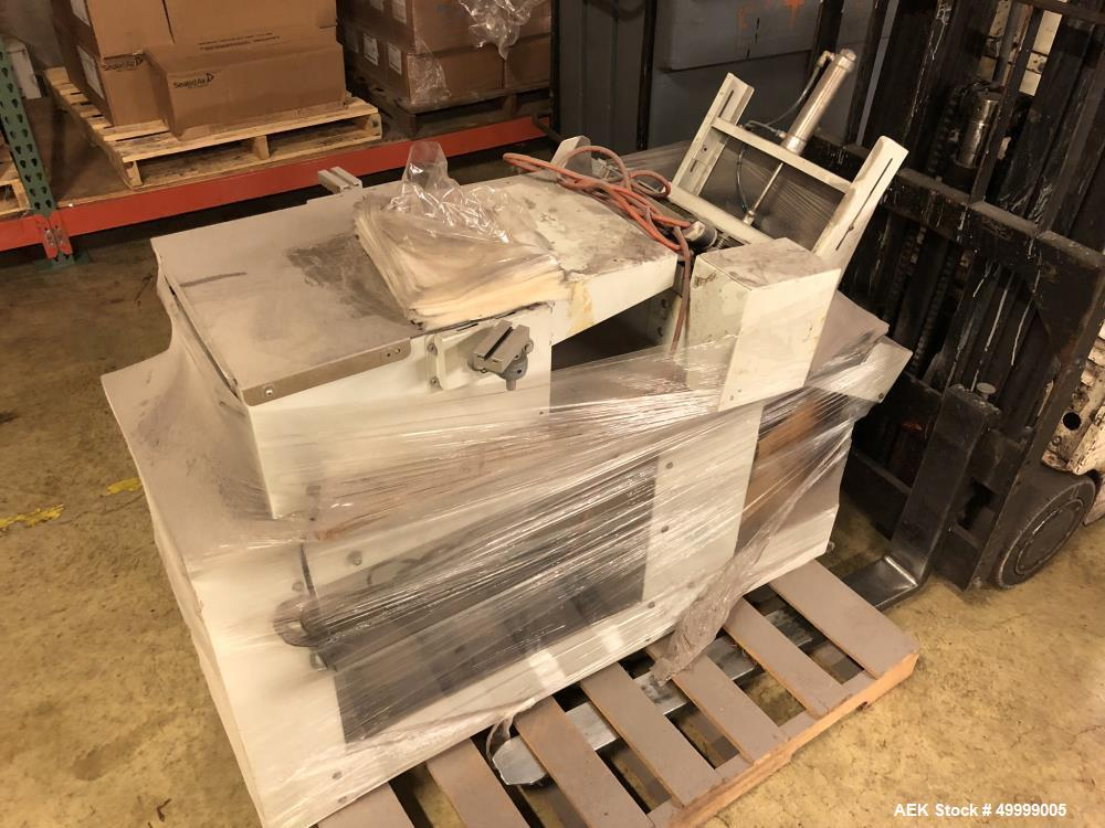 Used- Beasley Packaging Machinery Semi-Automatic Drop-Through Bag Sealer
