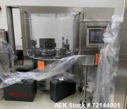 Bosch GKF 2500 Capsule Filler with Integrated KKE 2500 Checkweigher. A buyers premium of 18% will be...
