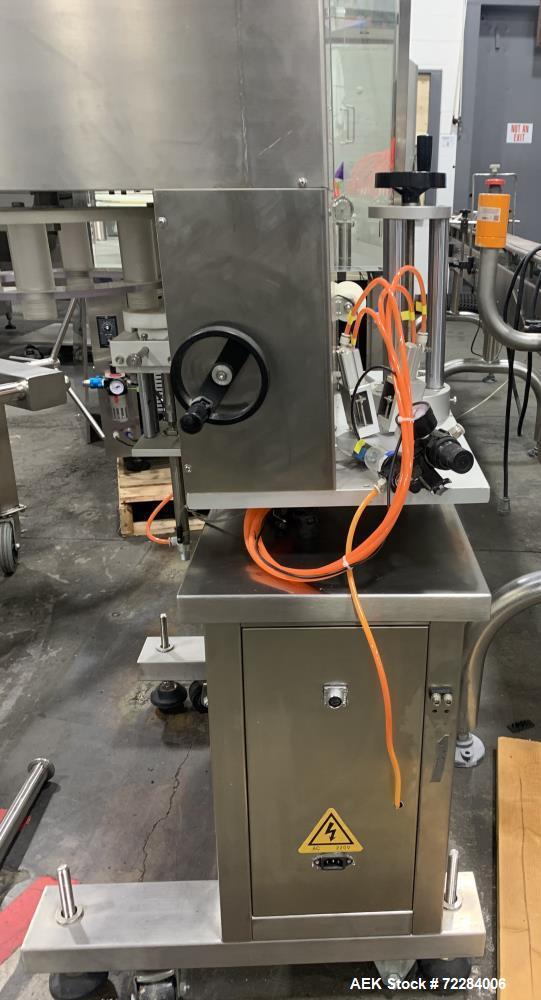 Used- Develop Machinery Liquid Capsule Filler