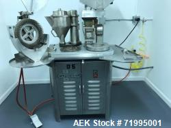 Used- Capsugel Capsule Filler, Model 8S.