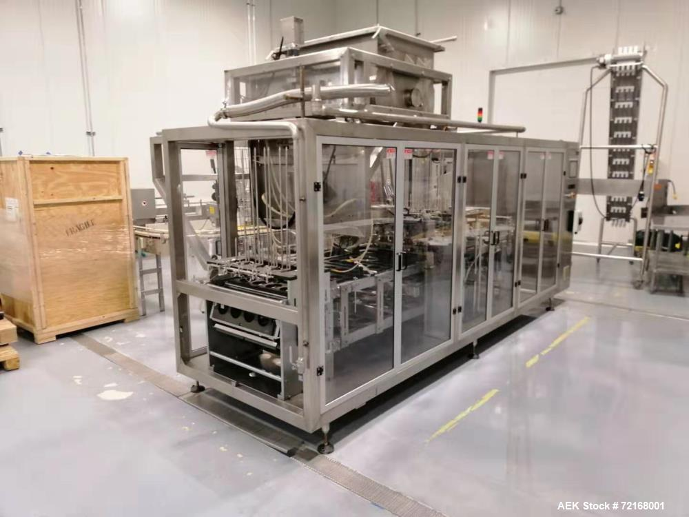 Used Eastsign Four Lane Filling and Capping Machine