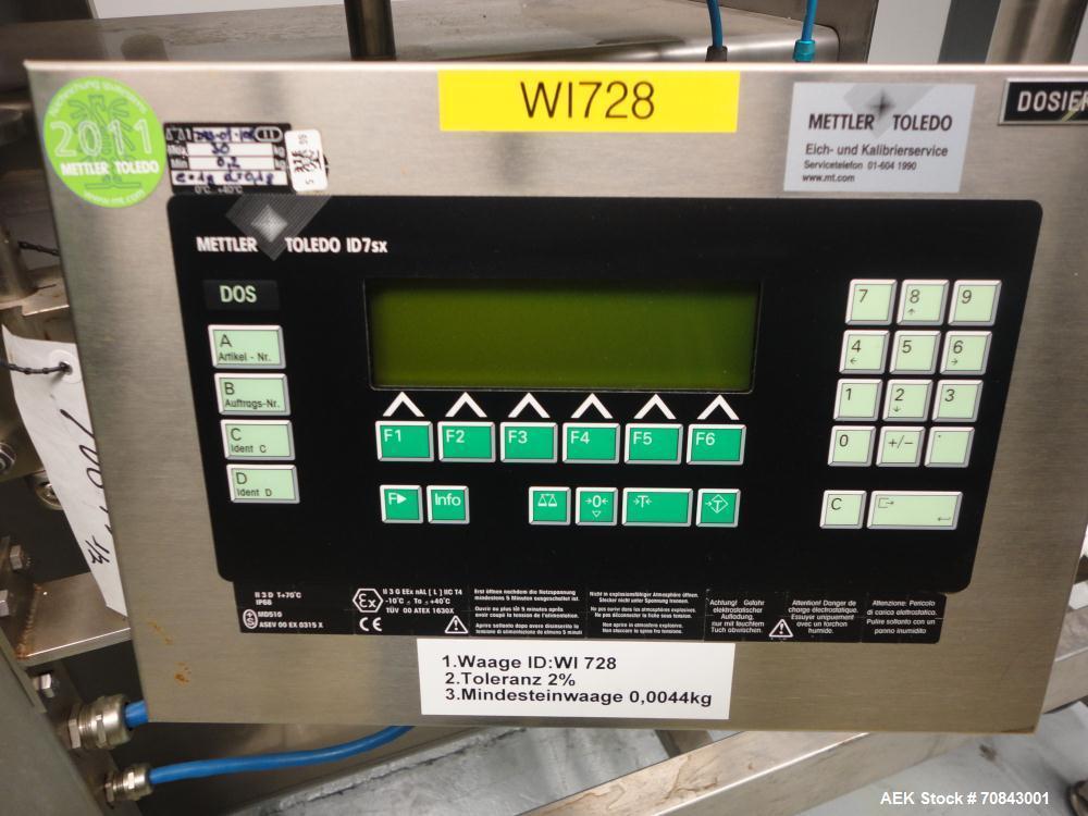Used Dec Containment Powder Filling System Cons